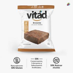 brownie sin azúcar añadida VITAD