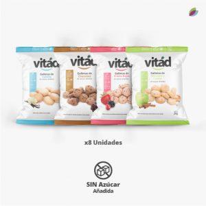 Galletas variadas sin azúcar añadida VITAD