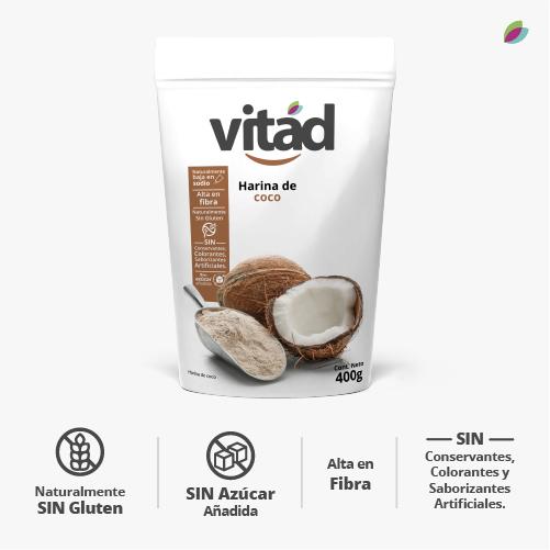 Harina de coco VITAD