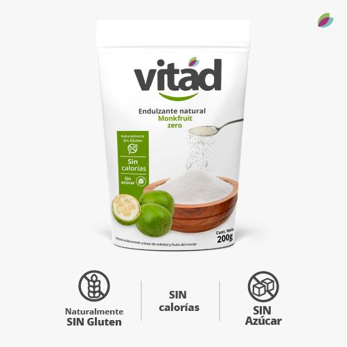Endulzante natural monkfruit zero VITAD